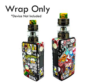 Vape Central Group Wraps for VOOPOO Drag 2!