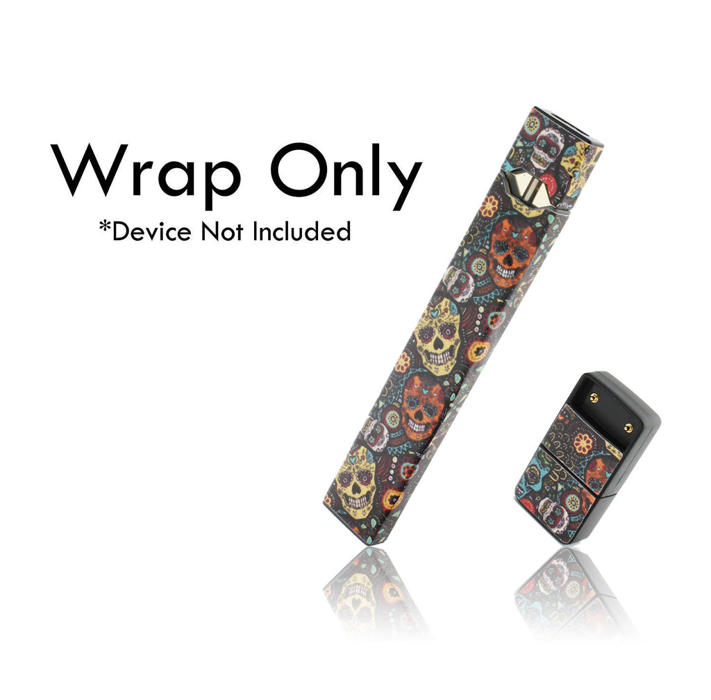 Vape Central Group Wraps for JUUL - Sugar Skulls