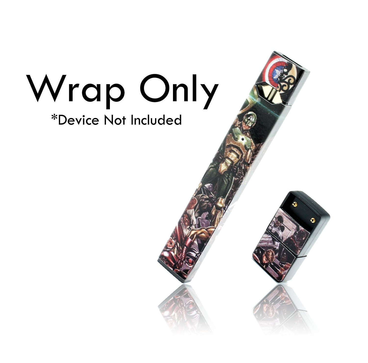 Vape Central Group Wraps for JUUL - Superhero