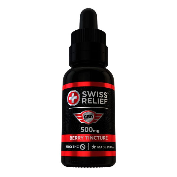 Berry CBD Tincture by Swiss Relief 30mL