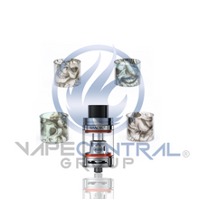 Load image into Gallery viewer, SMOK TFV8 Big Baby Beast Custom Glass - Skulls (ONLY GLASS)