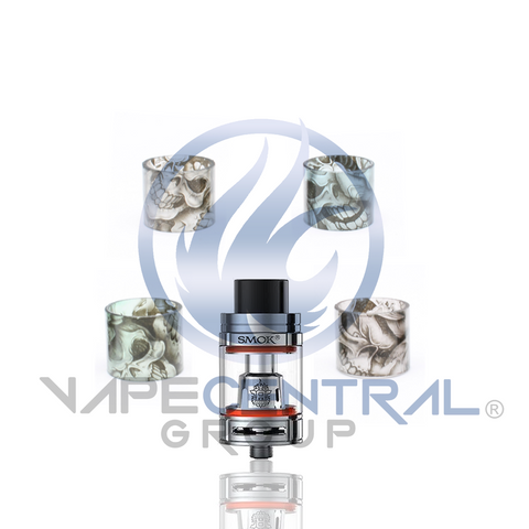 SMOK TFV8 Big Baby Beast Custom Glass - Skulls (ONLY GLASS)