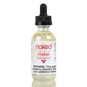 Triple Strawberry by Naked 100 E-Juice 60mL