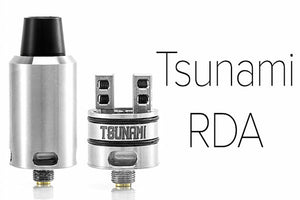 Tsunami Rda Authentic GeekVape Kennedy 22mm Airflow - Velocity Deck
