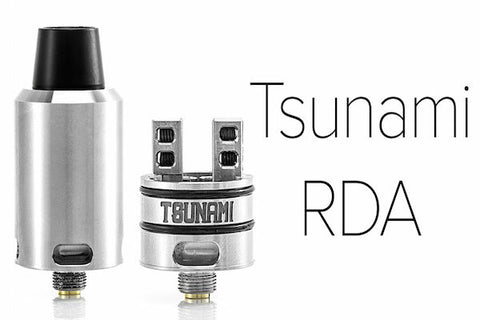 Tsunami Rda Authentic GeekVape Kennedy Goon 22mm Airflow - Velocity Deck