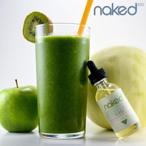 Naked 100 E-Juice 60ml by Schwartz Green Blast Flavor