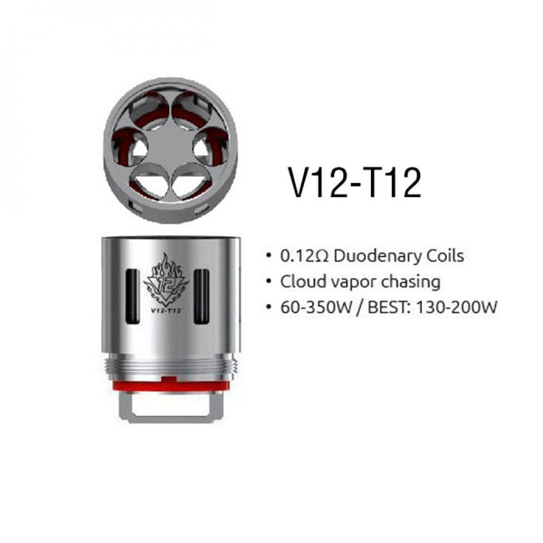 SMOK TFV12 V12-T12 Core Replacement Coils 3PCS (Pack of 3)