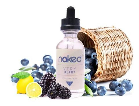 Naked 100 E-Juice 60ml by Schwartz Very Berry Flavor