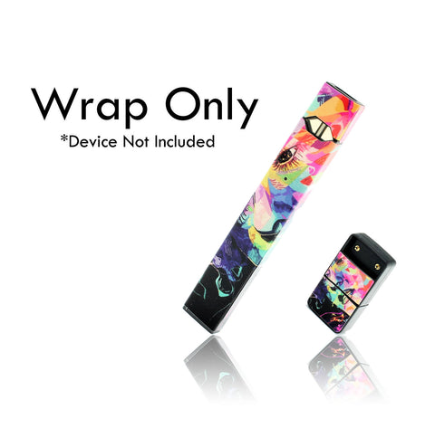 Vape Central Group Wraps for JUUL - Watercolor Abstract