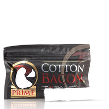 Load image into Gallery viewer, Wick 'n' Vape Organic Cotton Bacon PRIME