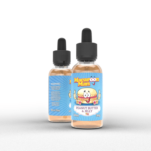 French Dude, Mr. Blintz, Macoon Man & Pancake Man e juice Flavors by Vape Breakfast Classics 60ml