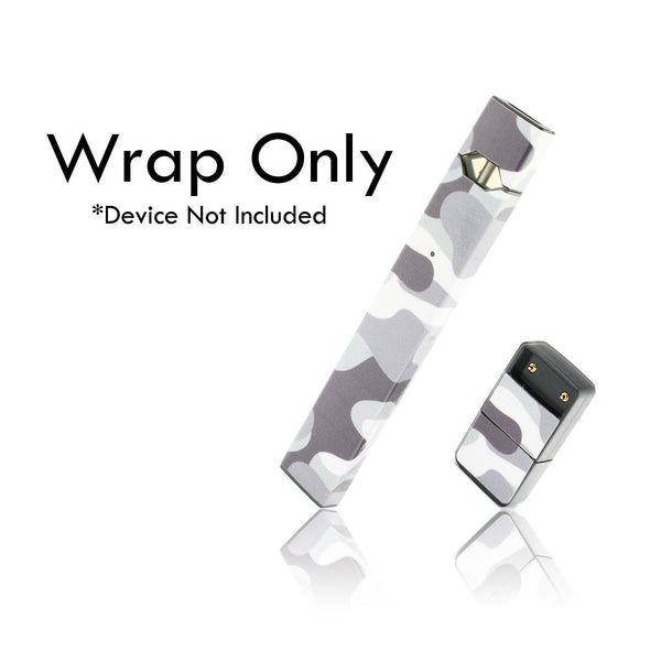 Vape Central Group Wraps for JUUL - Winter Camo