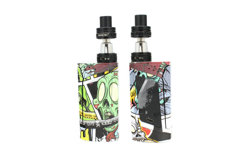 "SMOK Alien 220W Kit - Custom Painted ""Zombie #1"" Edition"