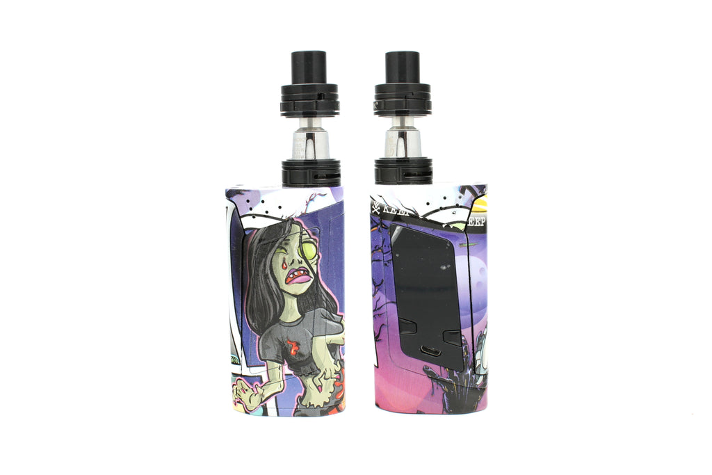"SMOK Alien 220W Kit - Custom Painted ""Zombie #2"" Edition"