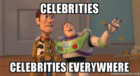 Celebrity gamers