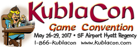 Gamemats, kublacon, Memorial Day, game convention, game mats