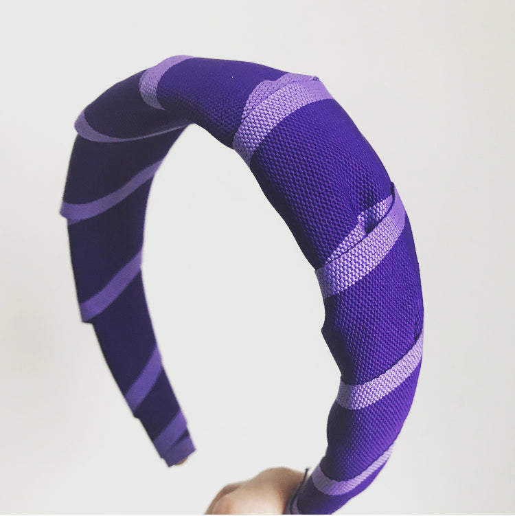 Striped Padded Headband