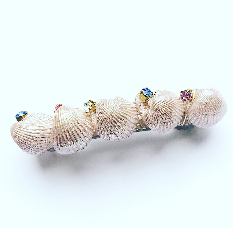 Crystal Shell Barrette