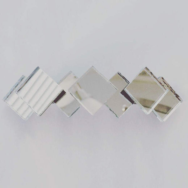 Diamond Mirror Barrette