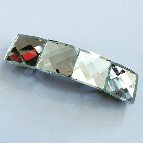 Small Prism Mirror Barrette