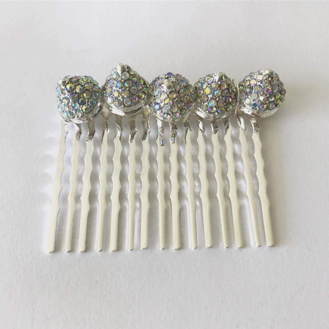 Rainbow Crystal Spike Comb
