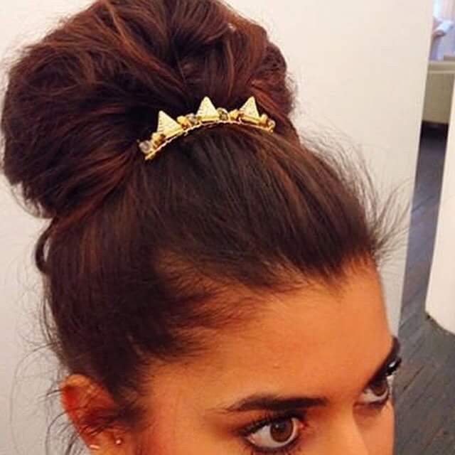 Crystal Spike Hair Comb