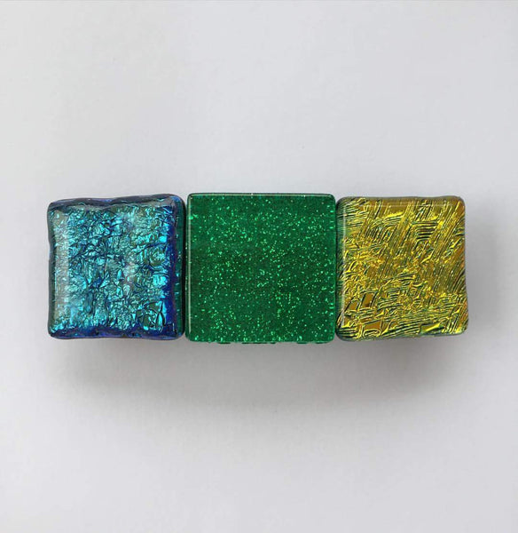 Ombre Glass Barrette