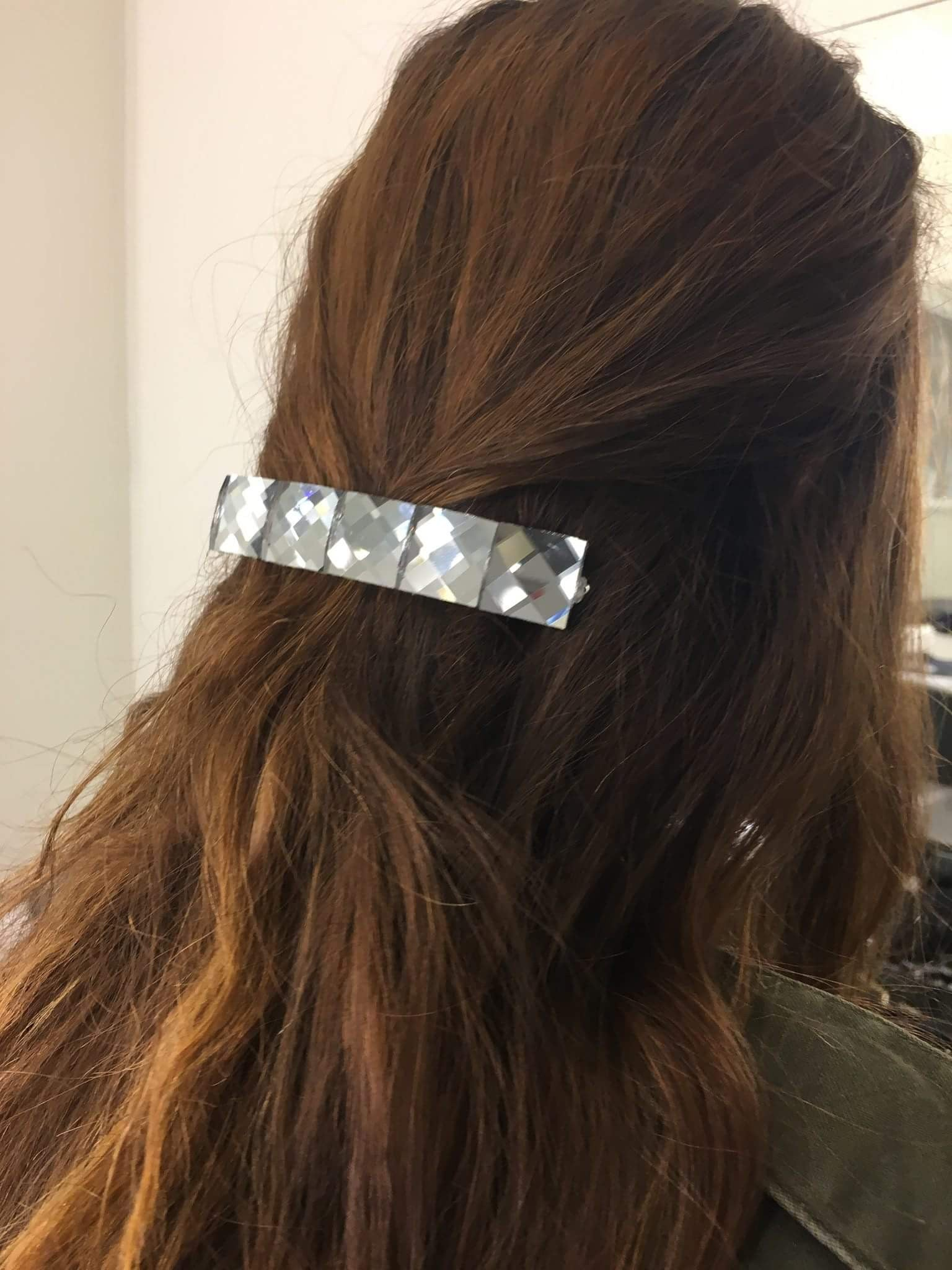Large Prism Mirror Barrette