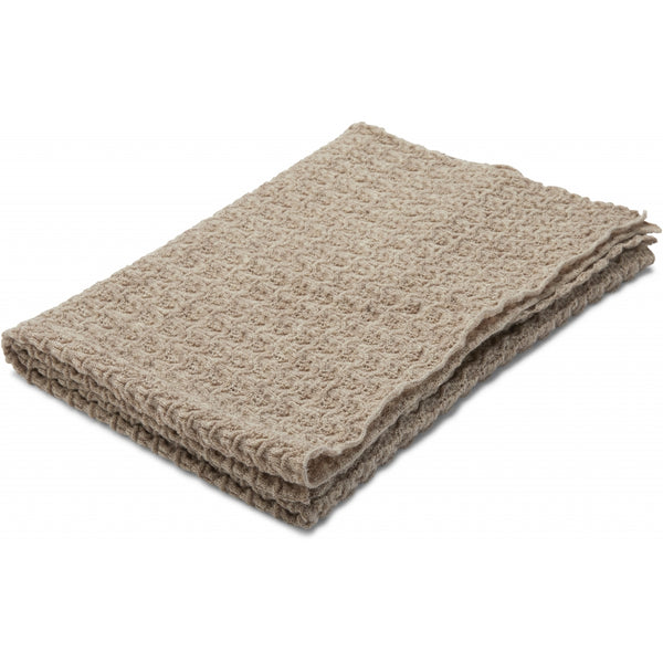 Konges Slojd Wool Baby Blanket Paloma Brown