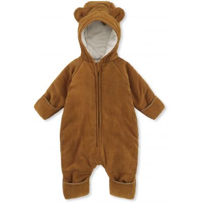Konges Slojd Teddy Suit Cognac - Last one 80/86