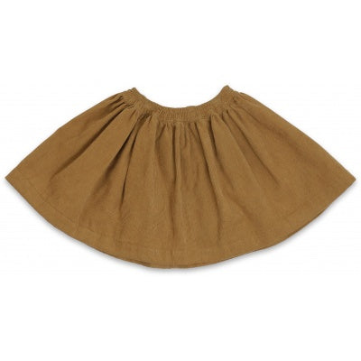 Konges Slojd Siri Skirt Amber Brown