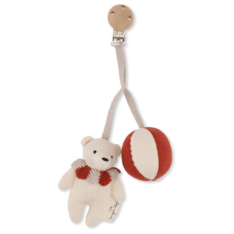 Konges Slojd Bear pram toy Toffee
