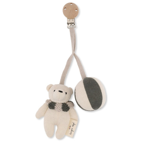 Konges Slojd Bear pram toy Ivy Green