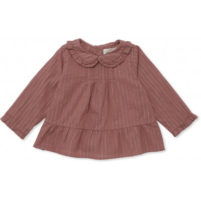 Konges Slojd Fia Blouse Ginger Blush (pre order ships next week)