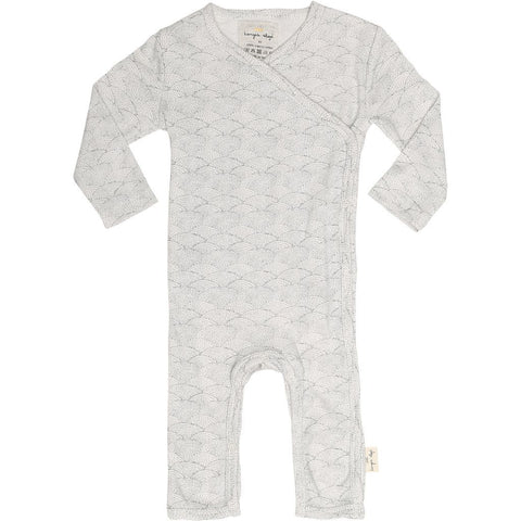 Konges Sløjd Onesie Sea Shell Off White