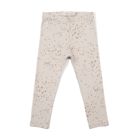 Phil & Phae Leggings Jools AOP Oatmeal - Last one 3Y