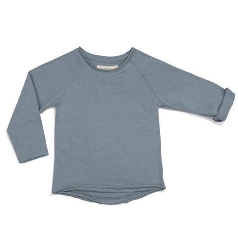 Phil & Phae Summer Raglan Tee Lavender blue - Last one 6-12M