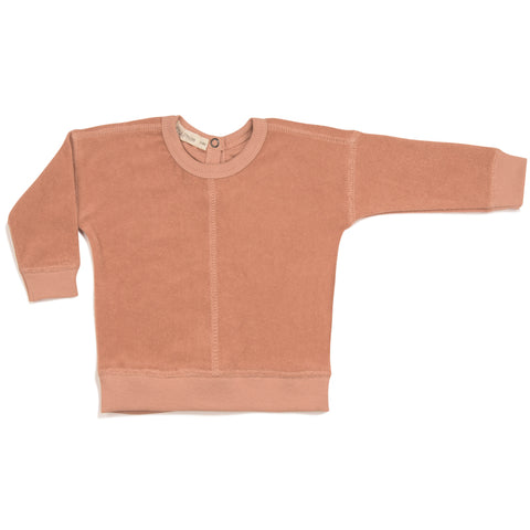 Phil & Phae Frotté sweater Toffee - Last one 6-12M