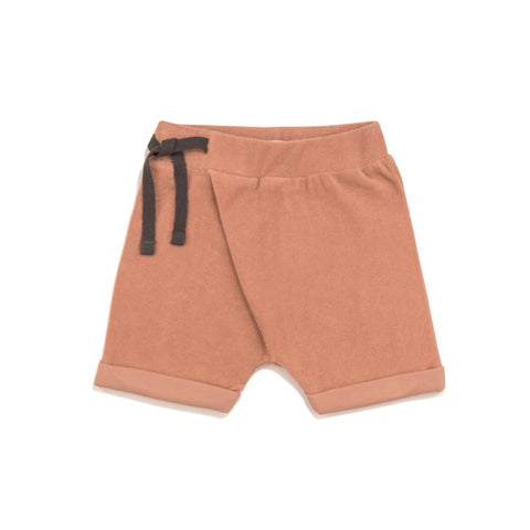 Phil & Phae Frotté harem shorts Toffee