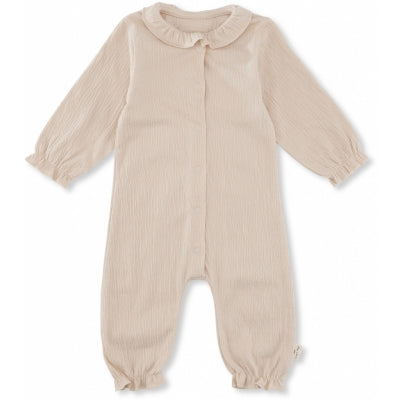 Konges Slojd Chleo Onesie Blush - Last one 2-3m
