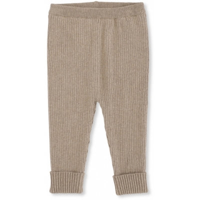 Konges Slojd Meo Knit Pants brown melange