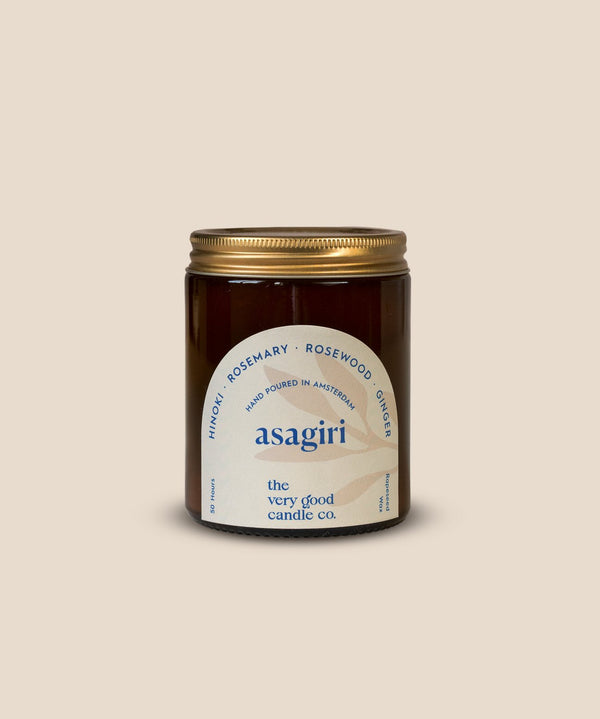 The Very Good Candle Company - ASAGIRI - Rapeseed Candle Mid Size 170ml 45-50 Hours
