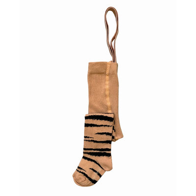 Maed for mini Brown Tiger AOP / Elastic Tights