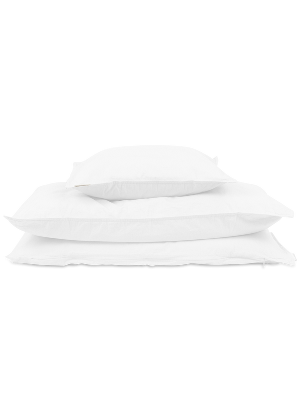 Studio Feder Junior Bedding Crisp White