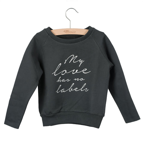 Little Hedonist Sweater Ceacilia My Love Has No Labels Pirate Black
