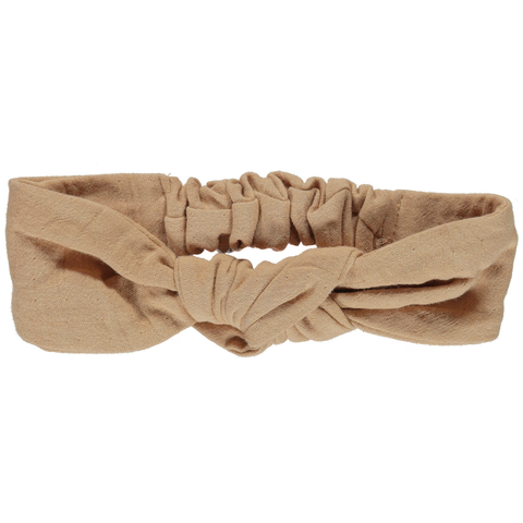 Poudre Organic Chardon Headband Indian Tan