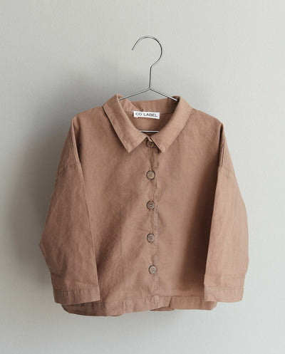 Co Label Blouse Bo Mushroom