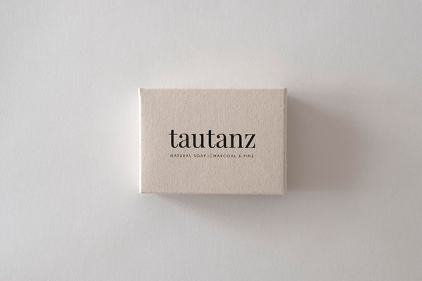 Tautanz Charcoal & Pine Natural Soap bar
