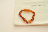 Grech & Co. Baltic Amber Children's Bracelet / Anklet - Strength