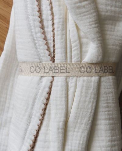 Co Label 2 pack of organic swaddles 100x100cm